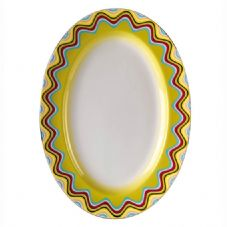 Richard Ginori Missoni Margherita Oval Plate 36cm
